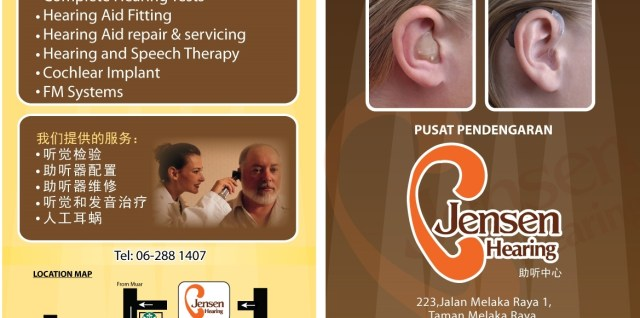 Jensen Hearing Services Brochure