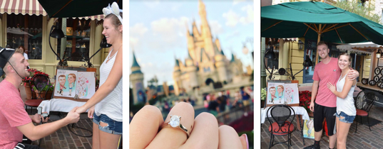 They Got Engaged at Disney' s Magic Kingdom: Travis & Tiffany's Magical Disney Proposal