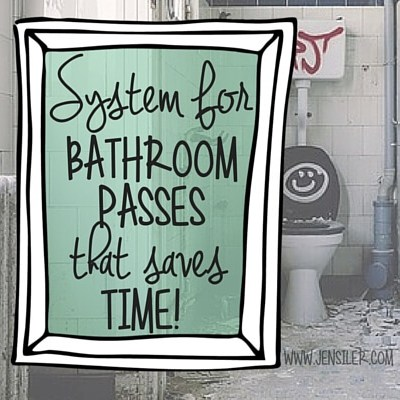 System for writing bathroom passes guaranteed to save you time!