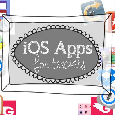 iOS apps for teachers