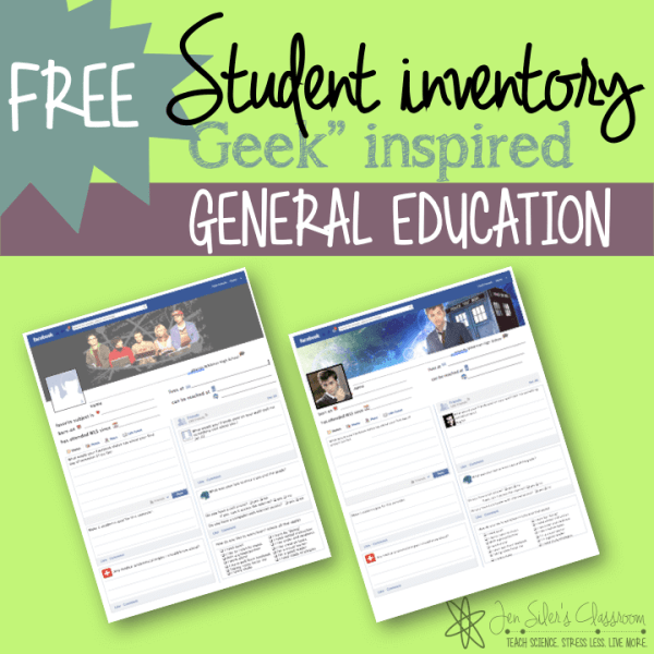 jen silers classroom student inventories