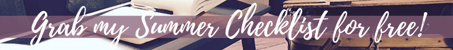 jen silers classroom summer checklist