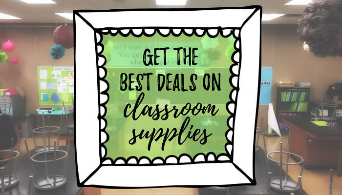 Where to get the best deals on classroom supplies