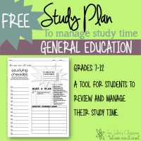 Jen Silers classroom study plan