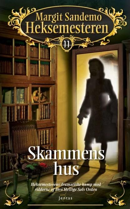 Heksemesteren 11 - Skammens hus - CD omslagsbillede
