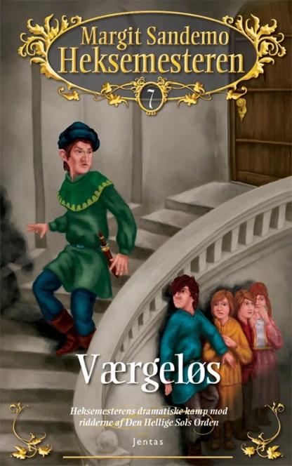 Heksemesteren 07 - Værgeløs - CD omslagsbillede