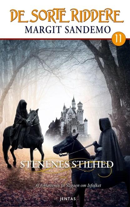 De sorte riddere 11 - Stenenes stilhed omslagsbillede