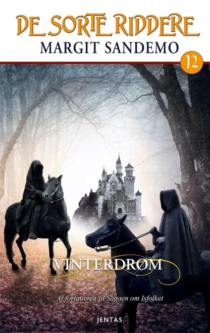 De sorte riddere 12 - Vinterdrøm omslagsbillede