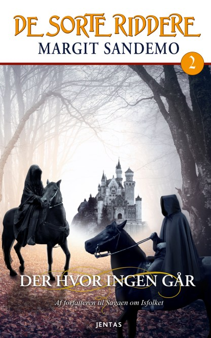 De sorte riddere 2 - Der hvor ingen går omslagsbillede