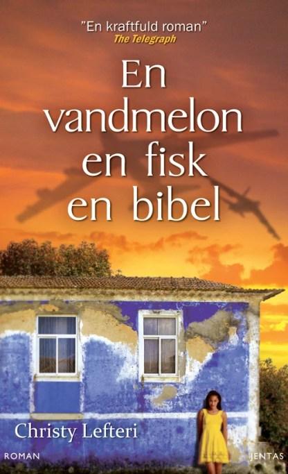 En vandmelon, en fisk, en bibel omslagsbillede
