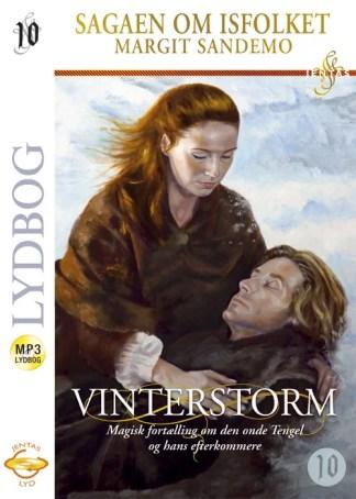 Isfolket 10 - Vinterstorm - MP3 omslagsbillede