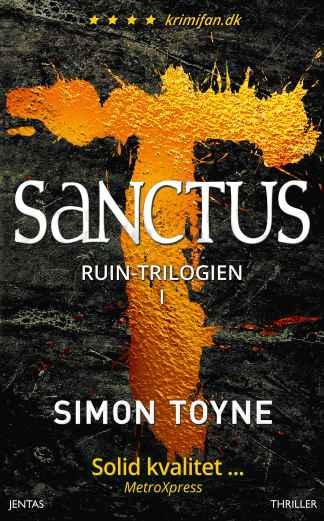 Sanctus af Simon Toyne omslagsbillede