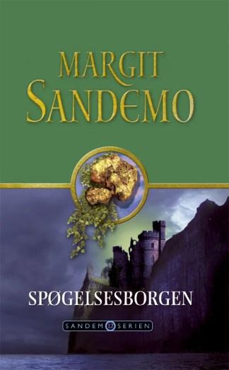 Sandemoserien 12 - Spøgelsesborgen omslagsbillede