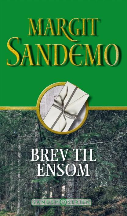 """Sandemoserien 27 - Brev til """"Ensom"""" omslagsbillede"""