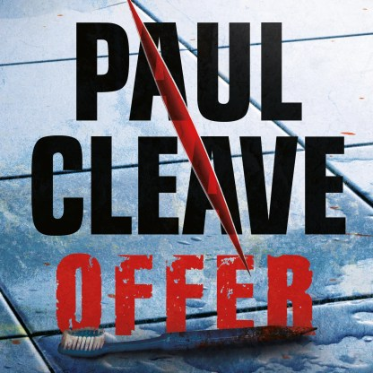 Offer af Paul Cleave - CD omslagsbillede