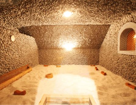 Salt Sauna Room Image credit: Siloam Website