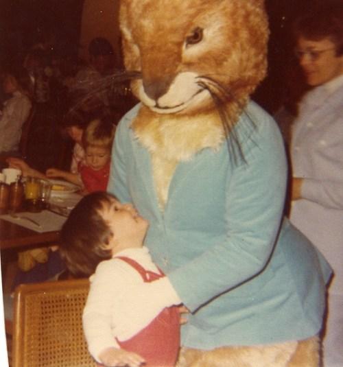 Creepy Peter Rabbit Easter Bunny, 1977