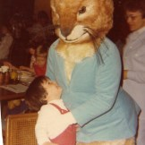 Creepy Peter Rabbit Easter Bunny, 1977