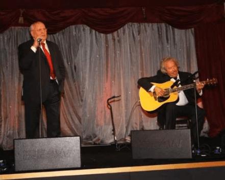 Gorbachev Singing Russian Love Song
