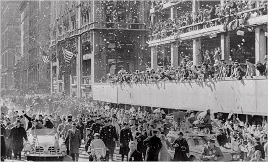 Ticker Tape Parade New York