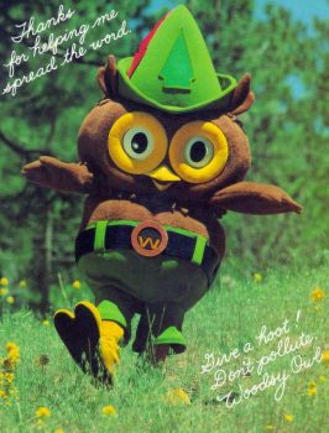 Woodsy Owl 1970s