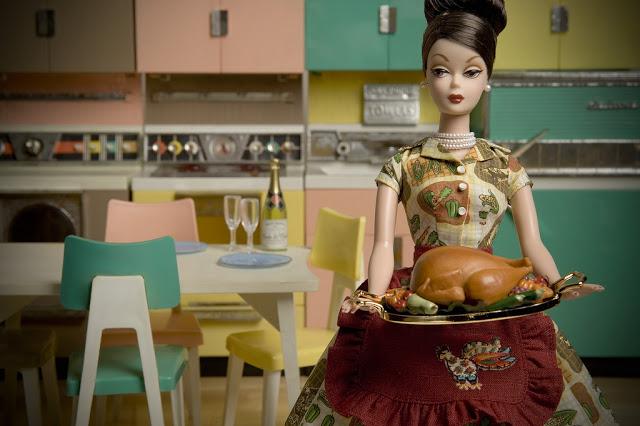 Barbie with a Turkey