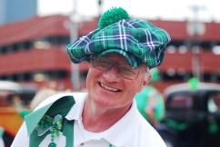 St. Patrick's Day Plaid Beanie Beret
