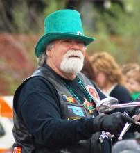 Man with Irish Top Hat