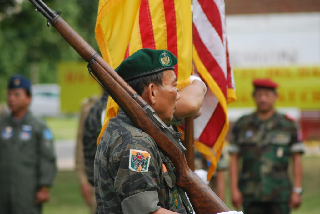 vietnam ceremony soldiers Oklahoma City