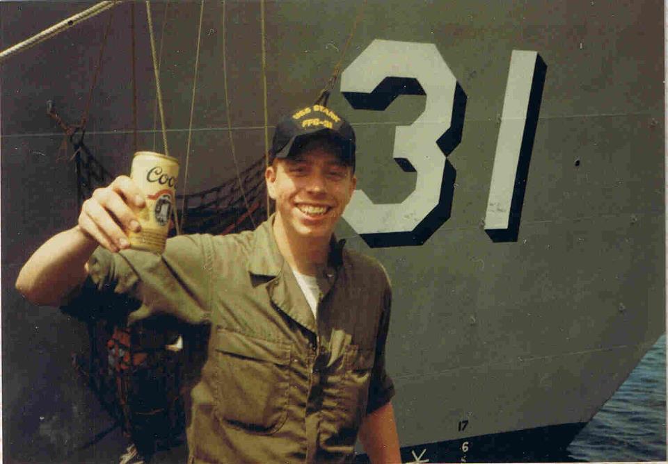 Mark Wasnock USS Shark Attack