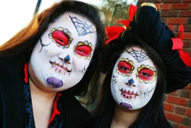 Day of the Dead Geishas | Día de Muertos
