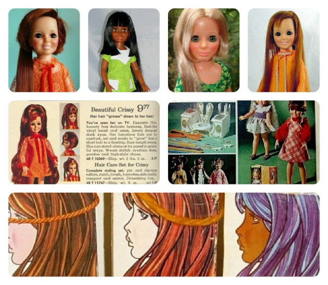 Crissy Doll Collage