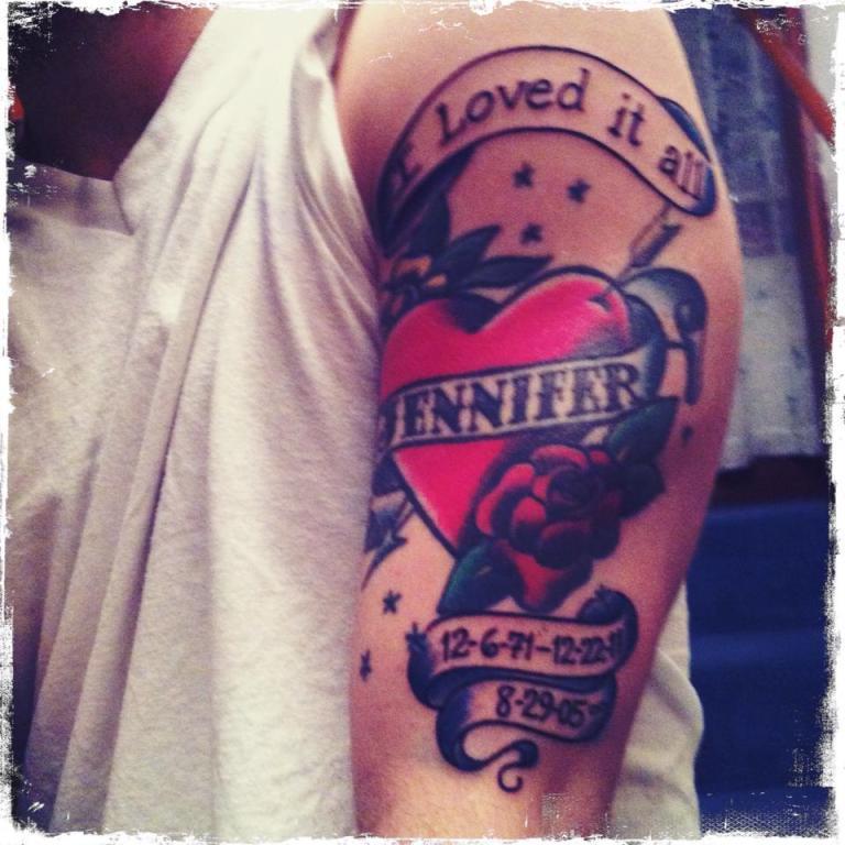 Jennifer Tattoo