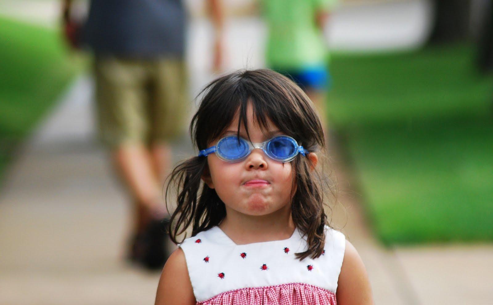 Oklahoma Photography | Blue Goggles