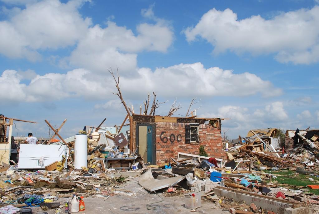 Oklahoma Tornado Ravaged Community