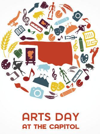 Arts Day at the Capitol logo