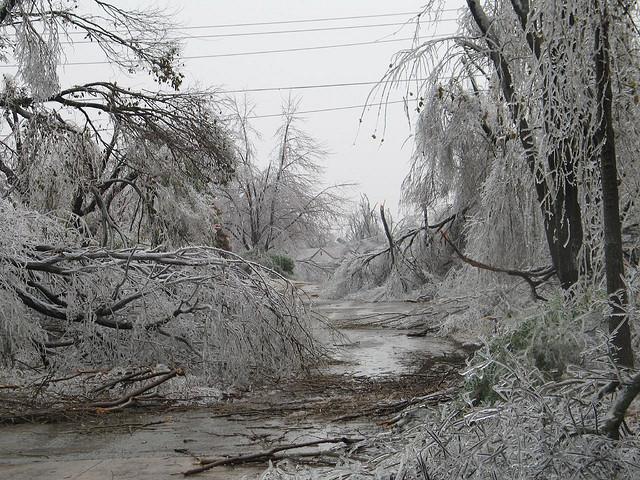 Ice Storm Oklahoma City 2007