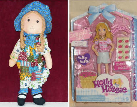 Holly Hobbie Then and Now