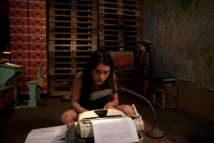 Àstrid Bergès-Frisbey as Juliette in the French film Juliette by Pierre Godeau