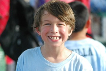 Boy with a Big Smile