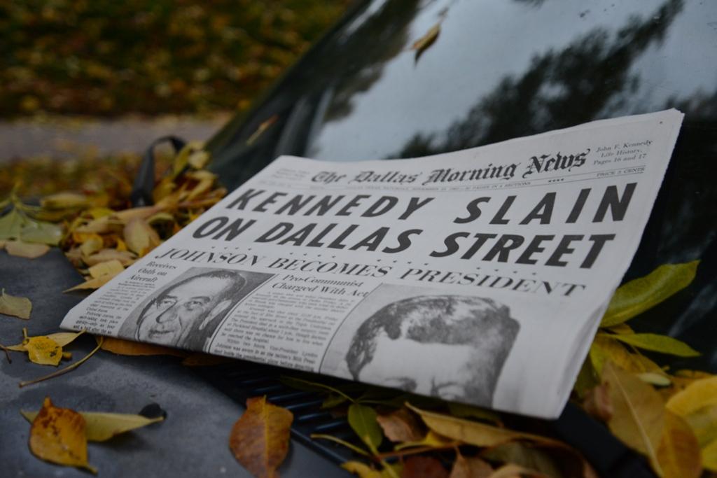 "Dallas Morning News Reprint: ""Kennedy Slain"" November 23, 1963"