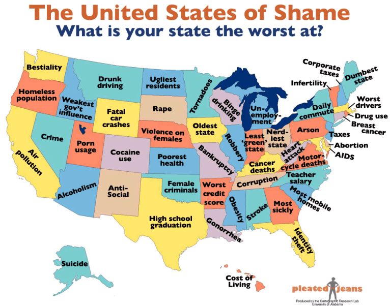 The-United-States-of-Shame Map