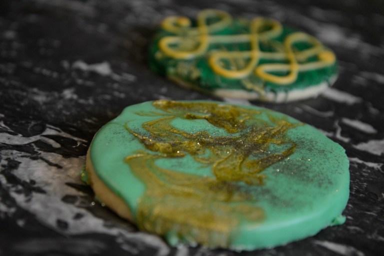 Beautiful St Patricks Day Cookies