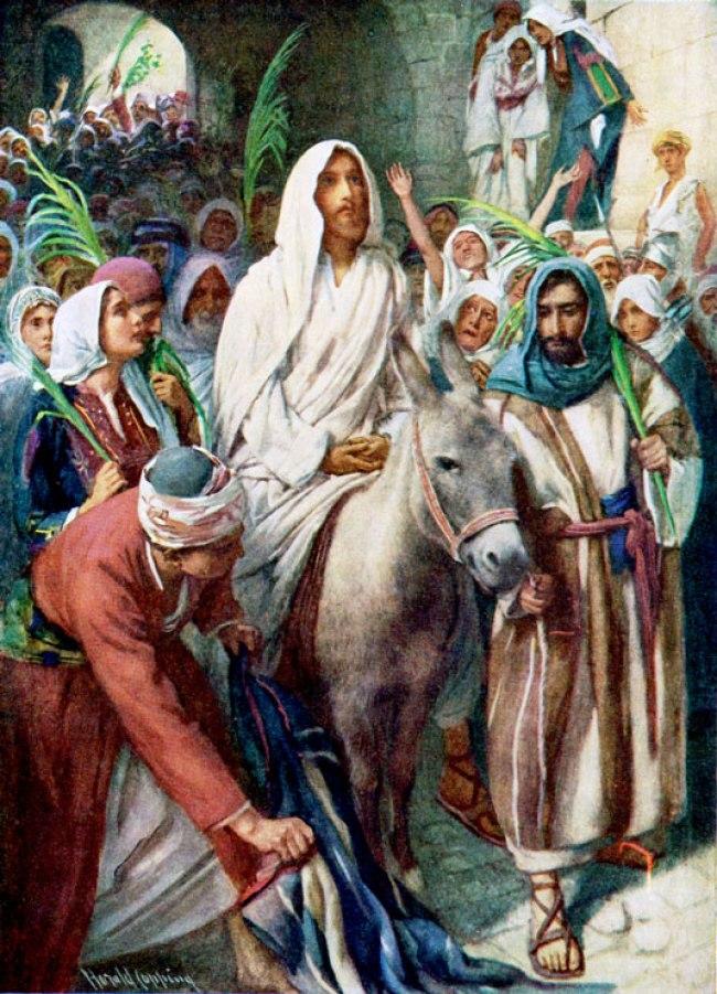 Jerusalem Jesus Entering