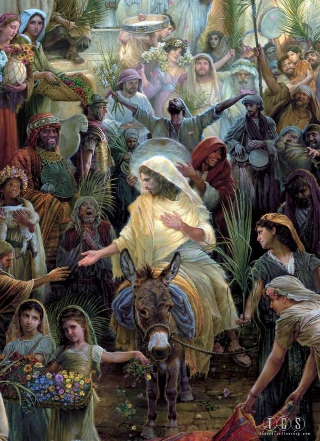 Jesus Jerusalem Parade