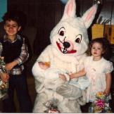 Weird Easter bunny
