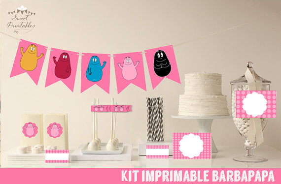 barbapapa printables