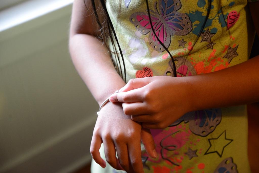 Charm Bracelet For A Little Girl