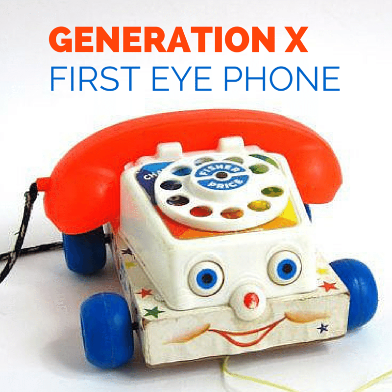 Generation X First Eye Phone