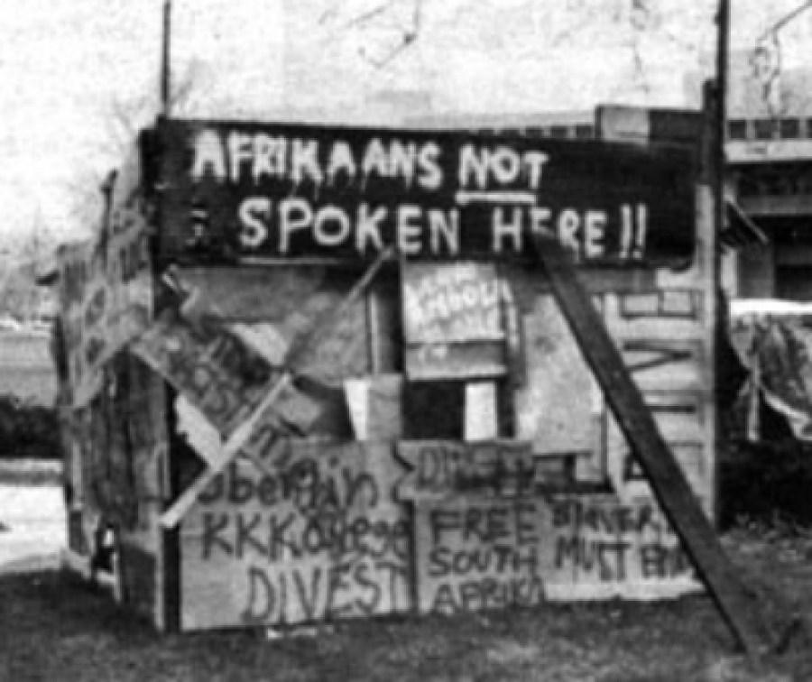 Oberlin Apartheid Demonstration